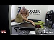Picture Horny blonde secretary fucks her boss in the...