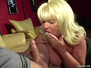 Picture Big titted smoking granny sucks hard cock