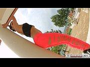 Ретро секс фото девушка в красном сарафане
