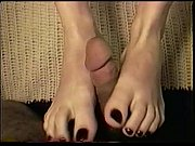 Jade cancer st time footjob