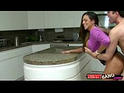 Picture Stepmom Ariella Ferrera sharing dick with Ca...