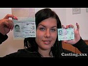 Casting First time facial for