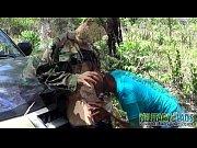 army boy has a pricknick with a stranger – Porn Video