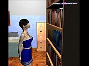 Picture 3D Comic: Librarian