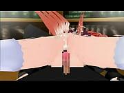【3Dエロアニメ】背が伸びると騙されて精液を飲まされるアロエちゃん【QMA】