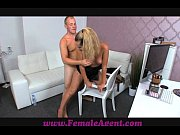 Picture FemaleAgent Nervous stud caught in agents we