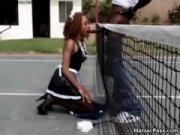 Жаркий секс преподователя со студенткой