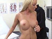 Horny Patient with big boobs Fucks her doctor