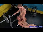 Cut gaysex jock plays the bottom bitch