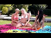 Picture Euro babe lesbian threesome complete with as...
