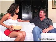 horny sexy latina with nice boobs sucks