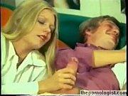 Retro porn threesome with hot blonde Anna Magle