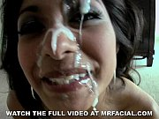 Exotic beauty loves mr facial