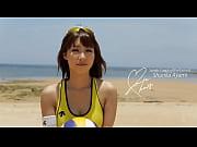 【あやみ旬果のコスプレ】ビーチバレーの美人お姉さんが浜辺で大胆セックス