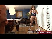 Mature tranny Johanna B gets her anal fucked by the coach