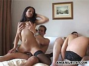 Amateur group sex foursome wit