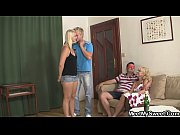 Picture Funny game with mature couple and Young Girl...