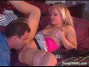 blonde slut getting filmed while she