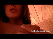 Picture Little Caprice lesbian sex in sauna full len...
