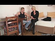 Picture Old blonde rides her neighbor big cock