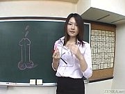 字幕日本語明渡瀬教室フェラ講義