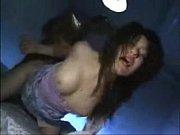 スイ乳中年女性が男達に拉致されて無理やり3Pえっちさせられる