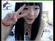 【美乳の淫乱ギャル動画】童顔の韓国人美少女がライブチャットサイトで配信