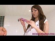 【田中瞳】ローションと爆乳美女。セールスマンにお試しでローションを勧められ、使用したが気持ち良すぎてセールスマンと中出しセックス。