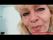 Older blonde mature sho...