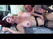 Picture Pretty redhead milf fucked in thigh high nyl...