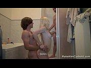 Fucking revenge in a bathroom, cuckold fucking Video Screenshot Preview