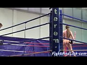 European teens wrestling before lesbiansex