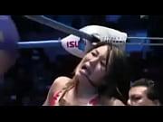 []女子プロレスラーKANAのエロイシーン!いやらしすぎる筋肉系女のフェチビデオです。