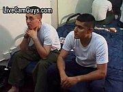 straight military men groped