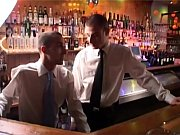 hunks in bar have hot bareback poking – Gay Porn Video