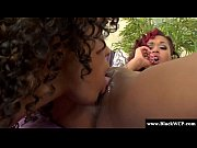 Picture Skin Diamond and Misty Stone ebony lesbian s...