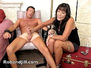 Picture CFNM Handjob Training with Post Orgasm