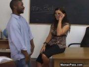 Professora pegou aluno negro e trepou