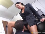 Veronica Rayne MILF office fuc