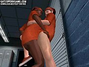 horny 3d cartoon prisoners sucking each others