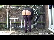 stockings upskirt no panties s