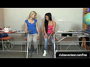 Excited teen lesbians...