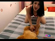 Girl Gives Her Dog Blow Job - Chattercams.net, dog 4g girl sex Video Screenshot Preview