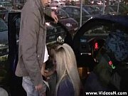 lot parking the at stranger a by fucked girls Two