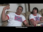 Transsexuals scoff at a member of the video