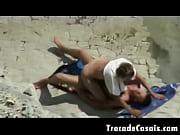 Couple make sex on a nudism beach amador casal transando na praia de nudismo