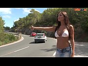 Picture Busty Hitchhiker Fucks For a Ride