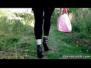 cute hottie sophie keagan is walking