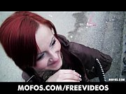 Czech redhead is paid cash to