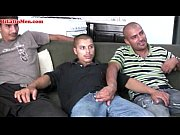 Picture Hot 3some with hot bi latin men with big unc...